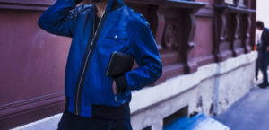 IMG 4539 e1485338130894 300x145 Куртка синяя из кожи питона