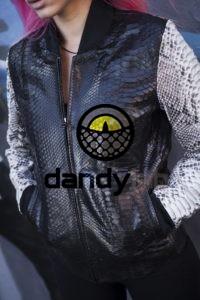 Dandylab piton074 200x300 Женская куртка из натуральной кожи питона
