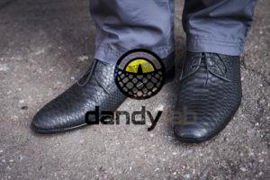 Dandylab piton121 300x200 Мужские туфли из натуральной кожи питона