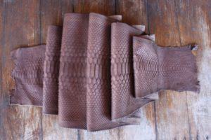IMG 0456 300x200 Кожа питона коричневый