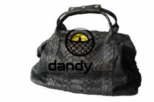 IMG 0513 300x200 Мужская сумка из натуральной кожи питона.