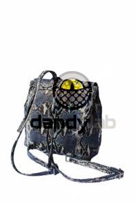 IMG 0658 200x300 Женская сумка из натуральной кожи питона.