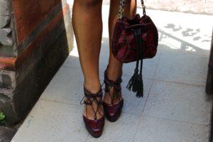 IMG 0880 300x200 Летняя обувь из натуральной кожи питона