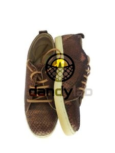 IMG 5404 225x300 Мужские туфли из натуральной кожи питона