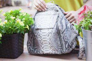 IMG 6568 300x200 Рюкзак из кожи питона