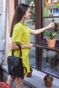 IMG 6577 200x300 Рюкзак в стиле Burberry из натуральной кожи питона