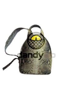 IMG 8631 e1465153965734 225x300 Стильный рюкзак из натуральной кожи питона