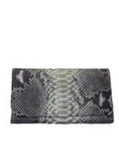 Женский кошелёк из натуральной кожи питона