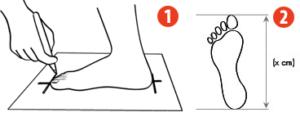 how to choose measure 300x117 Как измерить длину стопы