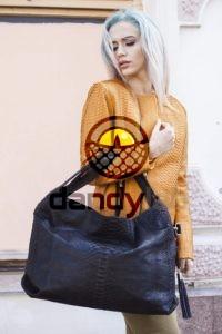 IMG 4411 200x300 Большая черная сумка из питона