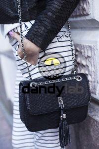 IMG 4451 200x300 Сумочка в стиле «Chanel» из кожи питона