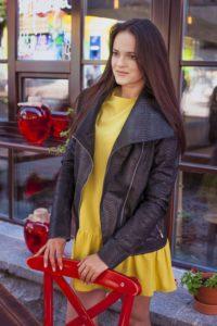 IMG 6544 200x300 Женская куртка в стиле кежуал из кожи питона