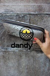 DandyLab 00015 200x300 Кошелек из натуральной кожи питона