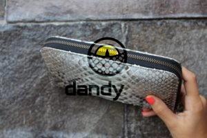 DandyLab 00016 300x200 Кошелек из натуральной кожи питона