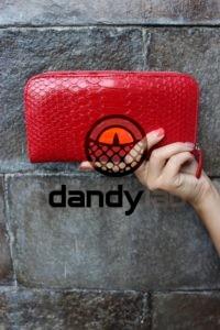 DandyLab 00023 200x300 Кошелек из натуральной кожи питона