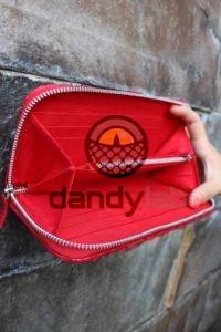 DandyLab 00025 200x300 Кошелек из натуральной кожи питона