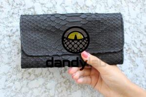 DandyLab 00032 300x200 Женский кошелек из кожи питона