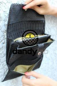 DandyLab 00038 200x300 Кошелек из натуральной кожи питона