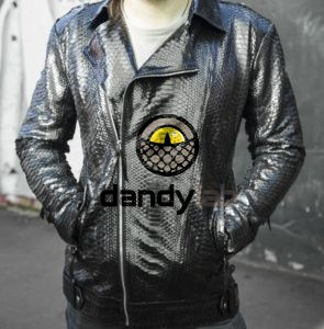 Dandylab piton008 e1485338265912 295x300 Мужская куртка косуха из кожи питона