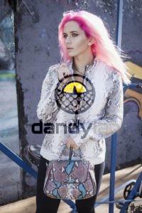 Dandylab piton034 200x300 Женская куртка из натуральной кожи питона