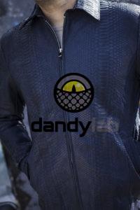 Dandylab piton044 200x300 Мужская куртка из кожи питона