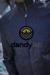 Dandylab piton048 200x300 Мужская куртка из кожи питона