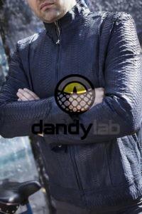 Dandylab piton051 200x300 Мужская куртка из кожи питона