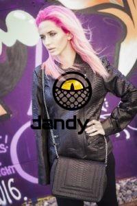 Dandylab piton088 200x300 Женская куртка из натуральной кожи питона
