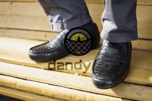 Dandylab piton091 300x200 Мокасины из натуральной кожи питона