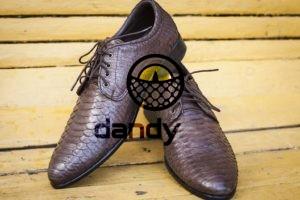 Dandylab piton099 300x200 Мужские туфли из натуральной кожи питона