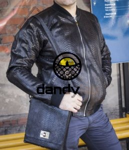 Dandylab piton109 e1485336627562 258x300 Сумка из натуральной кожи питона