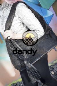 Dandylab piton125 200x300 Сумка мешок из натуральной кожи питона