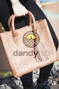Dandylab piton154 200x300 Сумка из натуральной кожи питона