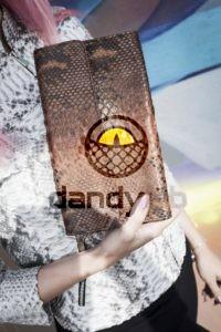 Dandylab piton163 200x300 Сумка из натуральной кожи питона