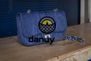 Dandylab piton180 300x200 Сумка из натуральной кожи питона