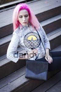Dandylab piton210 200x300 Клатч косметичка из натуральной кожи питона