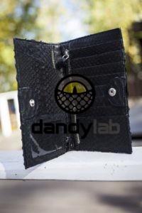Dandylab piton226 200x300 Кошелек из натуральной кожи питона