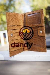 Dandylab piton228 200x300 Кошелек из натуральной кожи питона