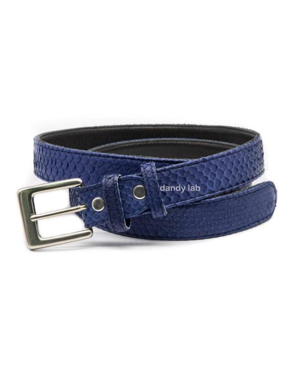 python leather belt order