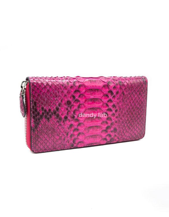 Genuine python leather wallet
