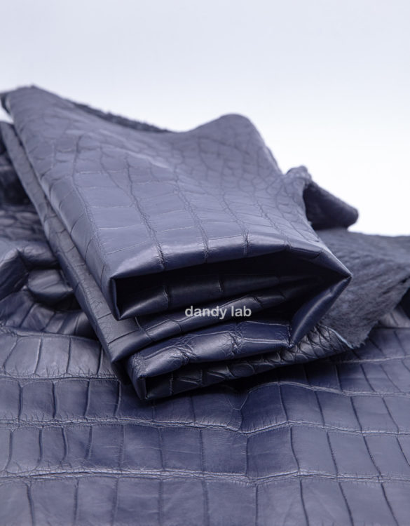 Genuine crocodile leather