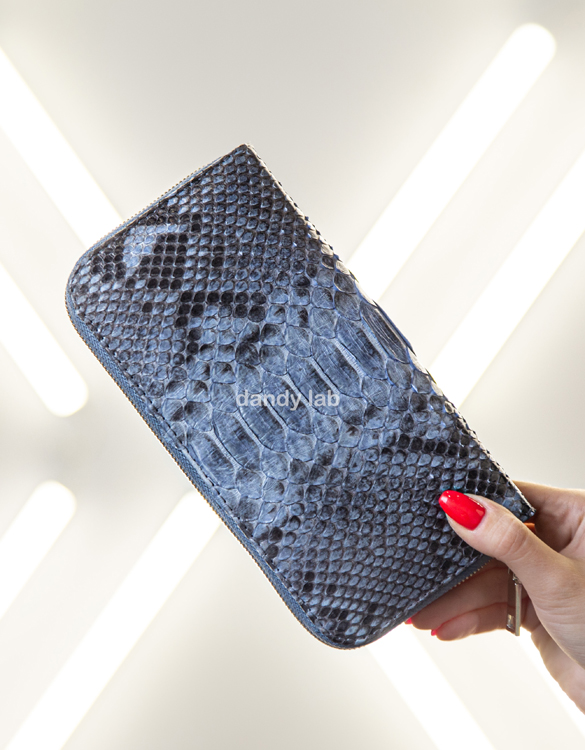 python leather wallet in moscow
