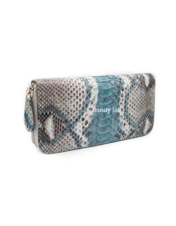 Genuine python leather wallet.