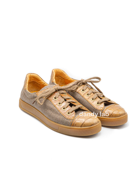 crocodile leather sneakers moscow