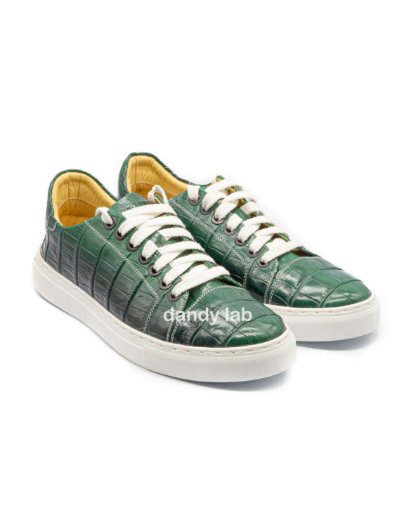 sneakers made of crocodile skin in moscow